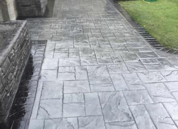 home rockfield paving imprinted concrete