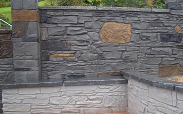 imprinted walls rockfield paving imprinted concrete